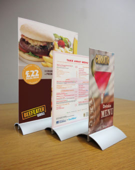 Menu and Information Displays